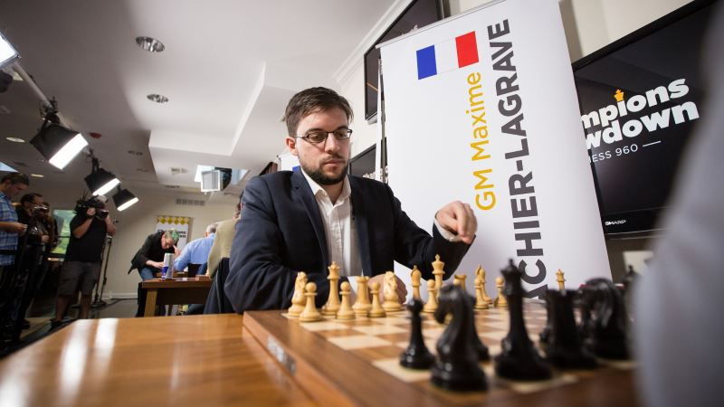 Champions Showdown Chess960 jour 4 Maxime Vachier-Lagrave