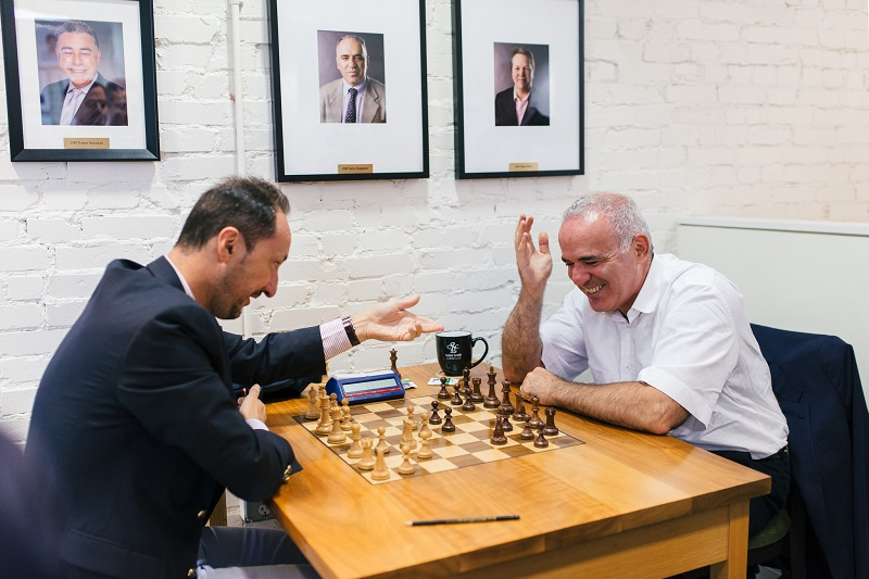 Champions Showdown 2018 Chess 960 Topalov-Kasparov jour 3