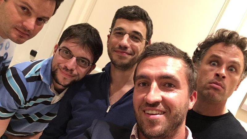 Olympiade d'échecs 2018 ronde 2 Equipe de France