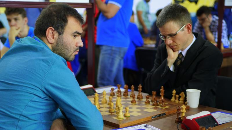 Olympiade d'échecs 2018 ronde 6 Mamedyarov-Navara