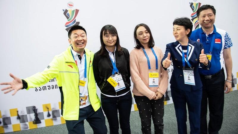 Olympiade d'échecs 2018 Chine double vainqueur