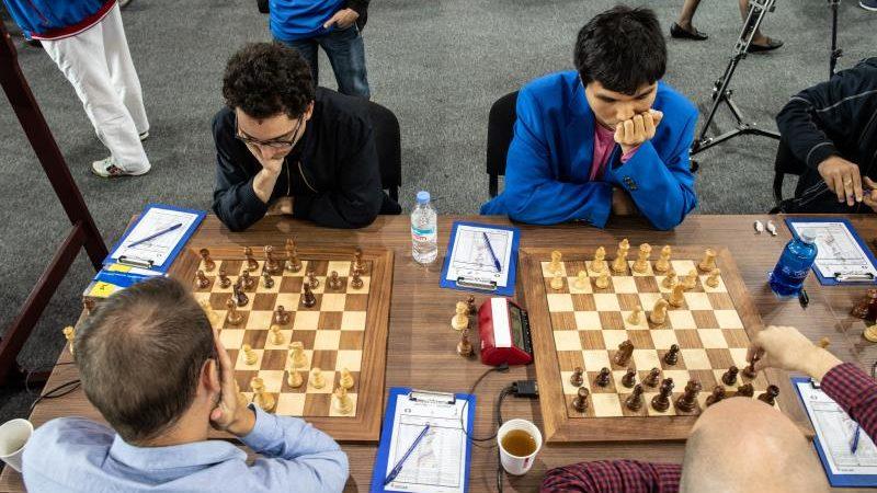 Olympiade d'échecs 2018 ronde 7 Etats-Unis Croatie