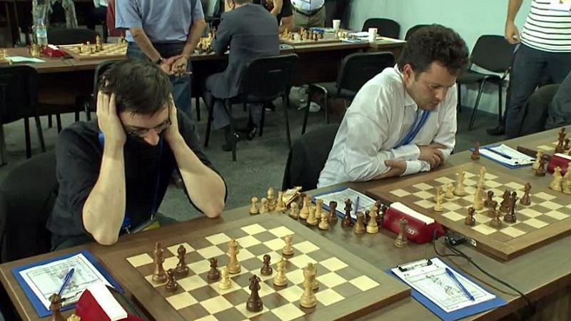 Olympiade d'échecs 2018 ronde 9 Maxime Vachier-Lagrave