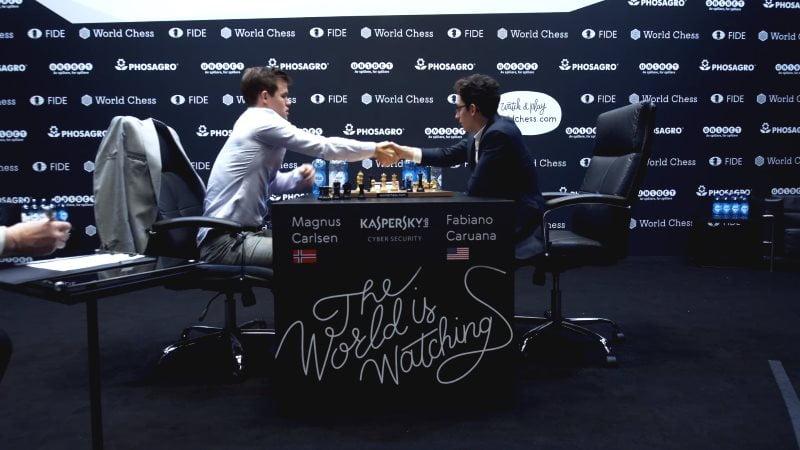 Championnat du Monde d'échecs 2018 départages fin