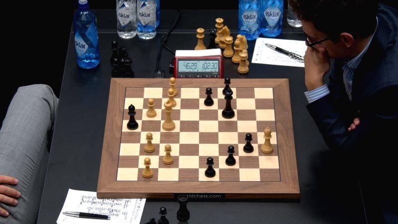 Championnat du Monde d'échecs 2018 partie 11 Caruana finale