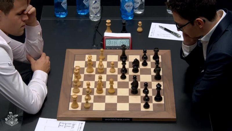Championnat du Monde d'échecs 2018 partie 2
