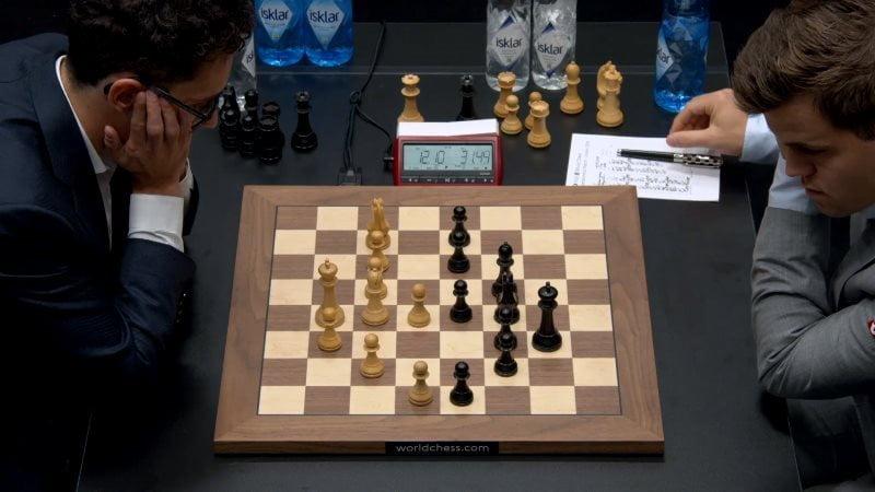 Championnat du Monde d'échecs 2018 partie 3