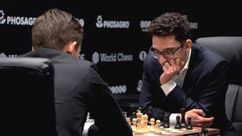 Championnat du Monde d'échecs 2018 partie 4