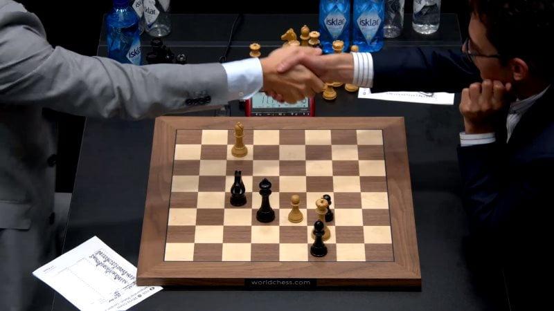 Championnat du Monde d'échecs 2018 partie 6 fin