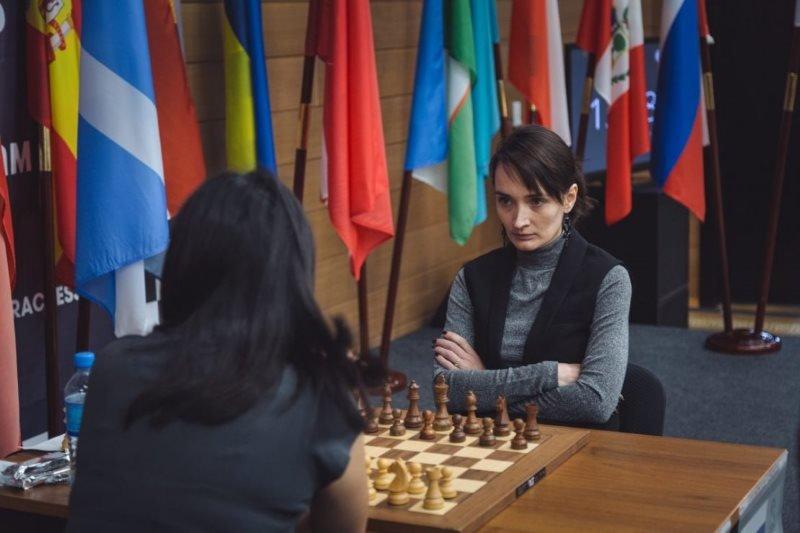 Championnat du Monde d'échecs féminin 2018 finale départages Kateryna Lagno