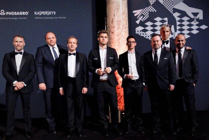 Gala ouverture Match Carlsen-Caruana-2018