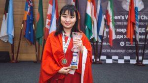 Ju Wenjun Championne du Monde d'échecs féminin 2018