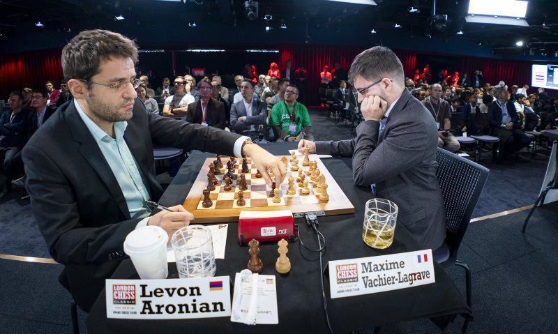 London Chess Classic 2018 Aronian Vachier-Lagrave