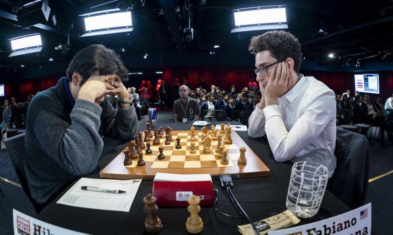 London Chess Classic 2018 Caruana-Nakamura