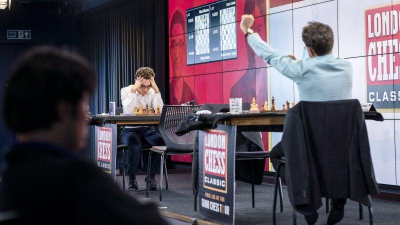 London- Chess Classic 2018 Demi-finales partie 1
