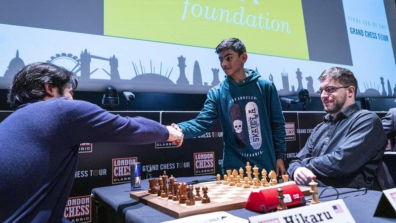 London Chess Classic 2018 Finales Grand Chess Tour partie classique 2
