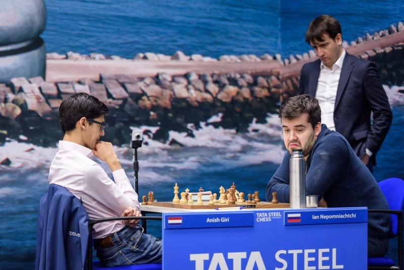 Tata Steel Chess 2019 ronde-1 Giri-Nepomniachtchi
