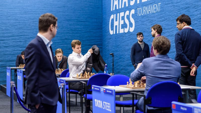 Tata Steel Chess 2019 ronde 2