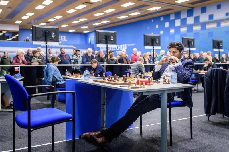 Tata Steel Chess 2019 ronde 4 Santosh Gujrathi Vidit
