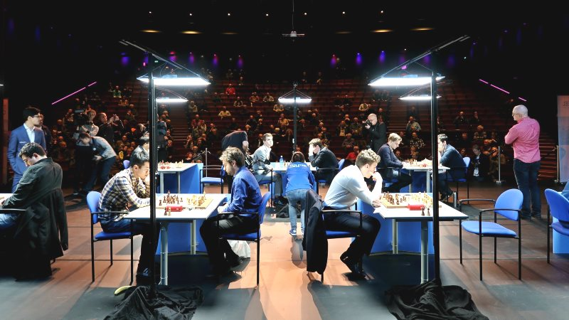 Tata Steel Chess 2019 ronde 5 Alkmaar