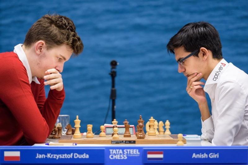 Tata Steel Chess 2019 ronde 6 Duda-Giri