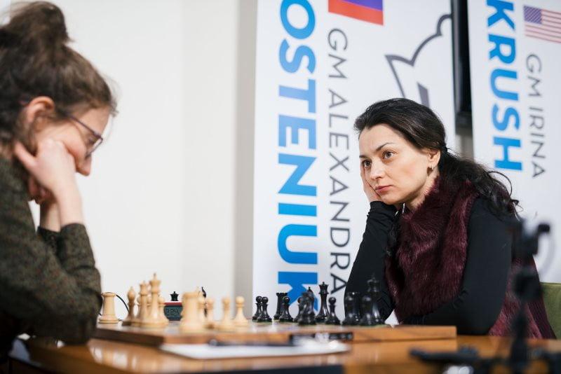 Cairns Cup 2019 Marie Sebag-Alexandra Kosteniuk