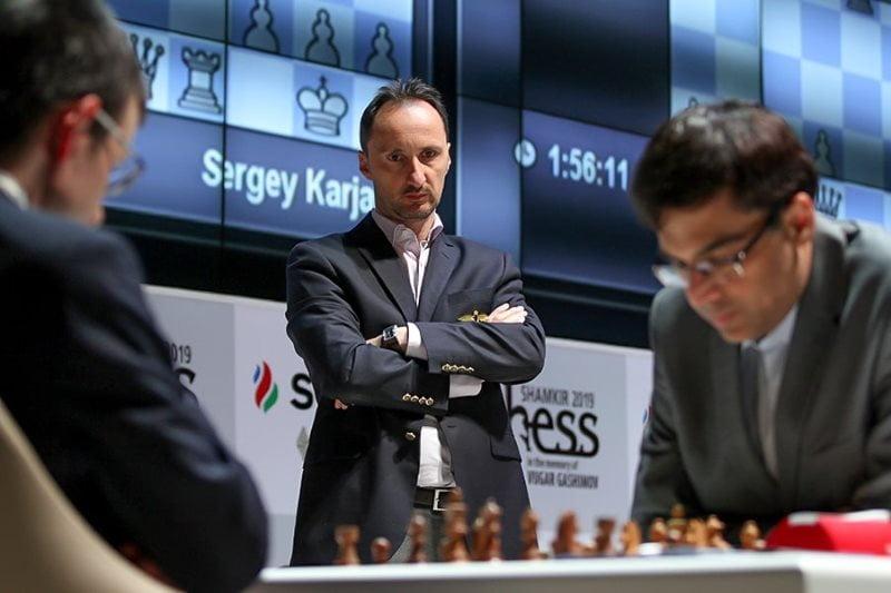Shamkir Chess 2019 ronde 1 Veselin Topalov