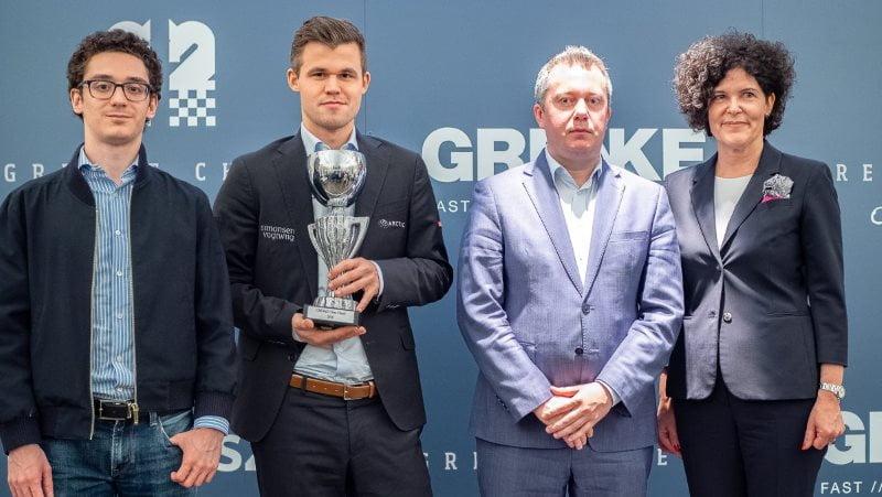 Magnus Carlsen remporte le Grenke Chess Classic 2019