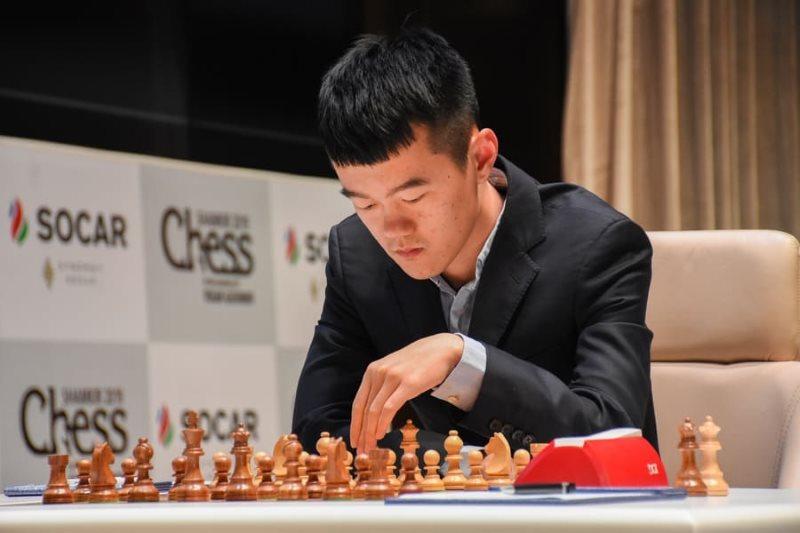 Shamkir Chess 2019 ronde 2 Liren Ding