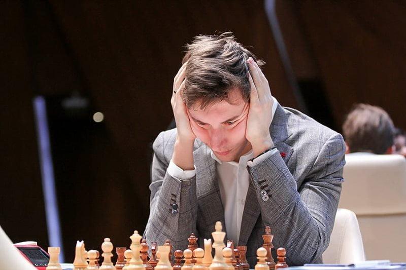 Shamkir Chess 2019 ronde 2 Sergey Karjakin