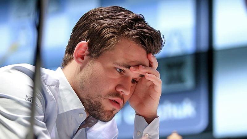 Shamkir Chess 2019 ronde 3 Magnus Carlsen