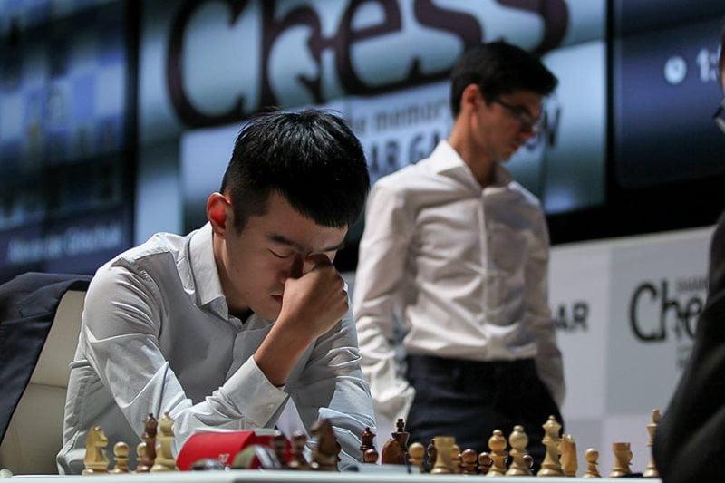 Shamkir Chess 2019 ronde 5 Liren Ding