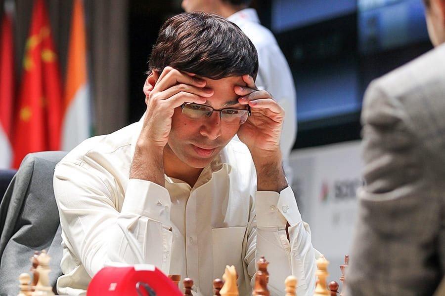 Shamkir Chess 2019 ronde 6 Viswanathan Anand