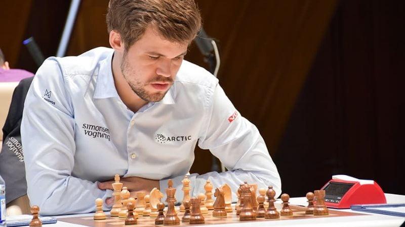 Shamkir Chess 2019 ronde 7 Magnus Carlsen