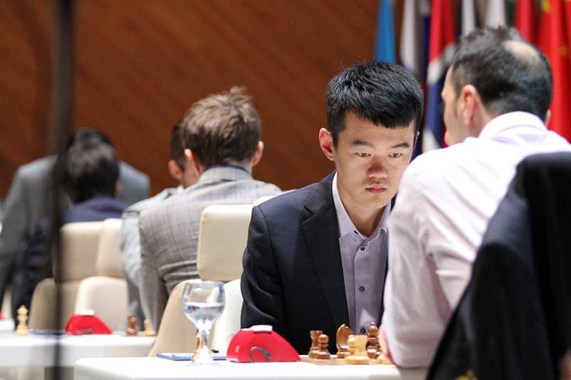 Shamkir Chess 2019 ronde 8 Liren Ding