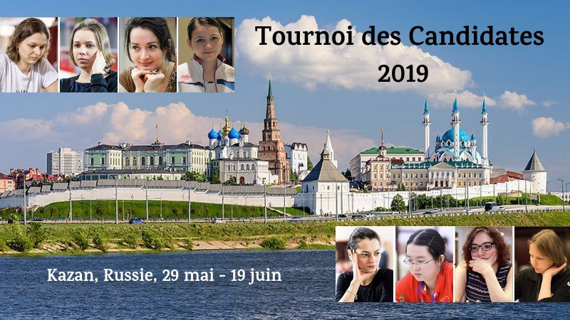 Tournoi des Candidates 2019 à Kazan