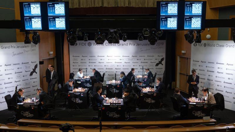 Grand Prix FIDE Jérusalem 2019 ronde 1