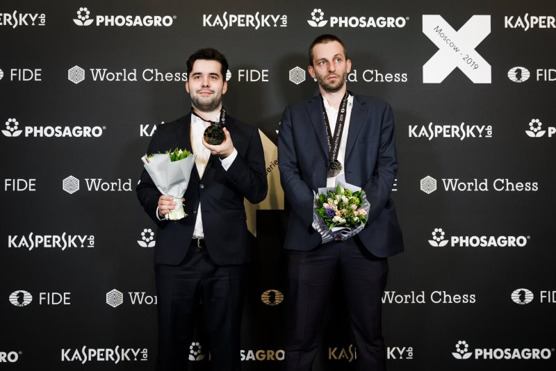 Grand Prix FIDE Moscou 2019 finale clôture