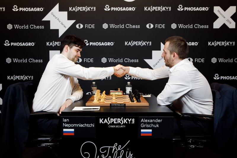 Grand Prix FIDE Moscou 2019 finale partie 2