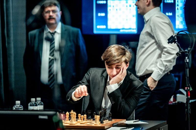 Grand Prix FIDE Moscou 2019 ronde 1 Daniil Dubov