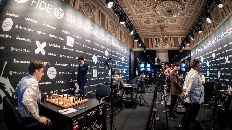 Grand Prix FIDE Moscou 2019 Ronde 1