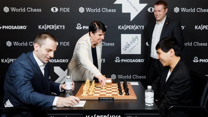Grand Prix FIDE Moscou 2019 ronde 2