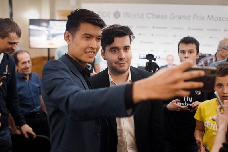 Grand Prix FIDE Moscou 2019 ronde 3 Ian Nepomniechtchi
