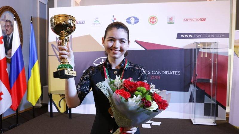 Aleksandra Goryachkina challenger