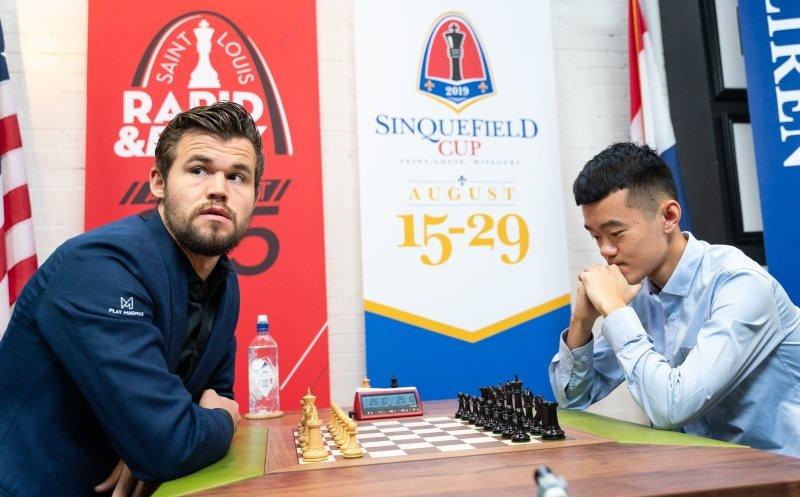 Sinquefield Cup 2019 départage Magnus Carlsen - Liren Ding