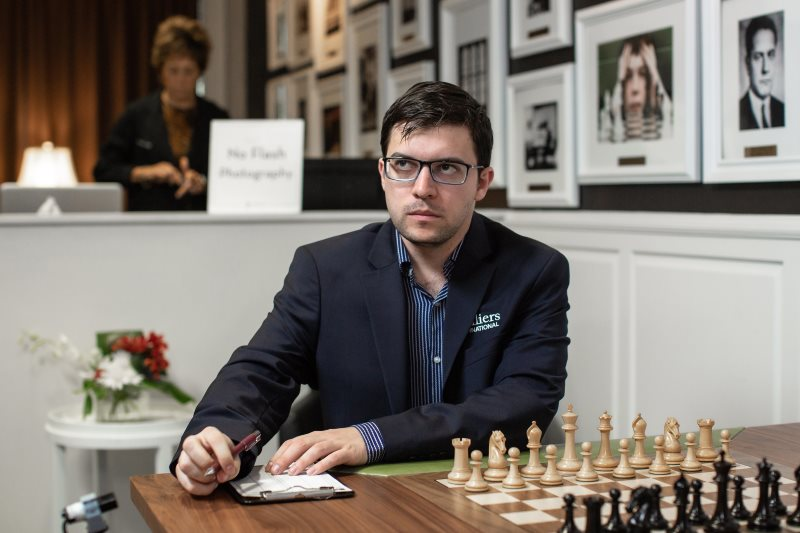 Sinquefield Cup 2019 ronde 2 Maxime Vachier-Lagrave