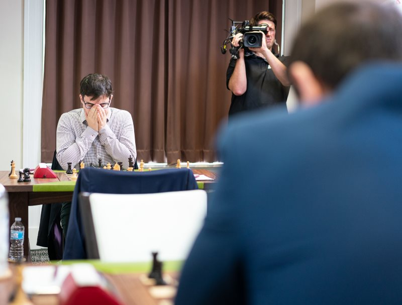Sinquefield Cup 2019 ronde 4 Maxime Vachier-Lagrave
