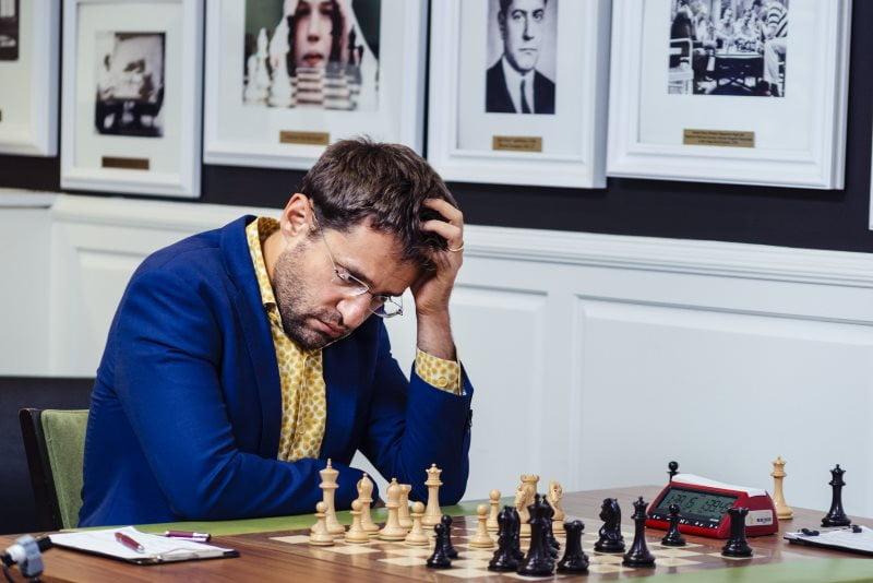 Sinquefield Cup 2019 ronde 7 Levon Aronian