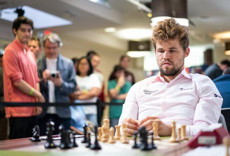 Sinquefield Cup 2019 ronde 7 Magnus Carlsen