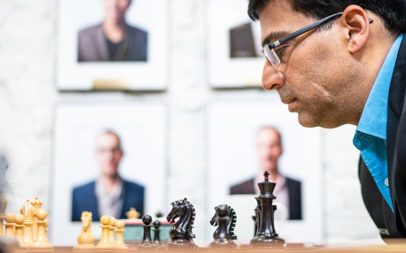 Sinquefield Cup 2019 ronde 7 Viswanathan Anand